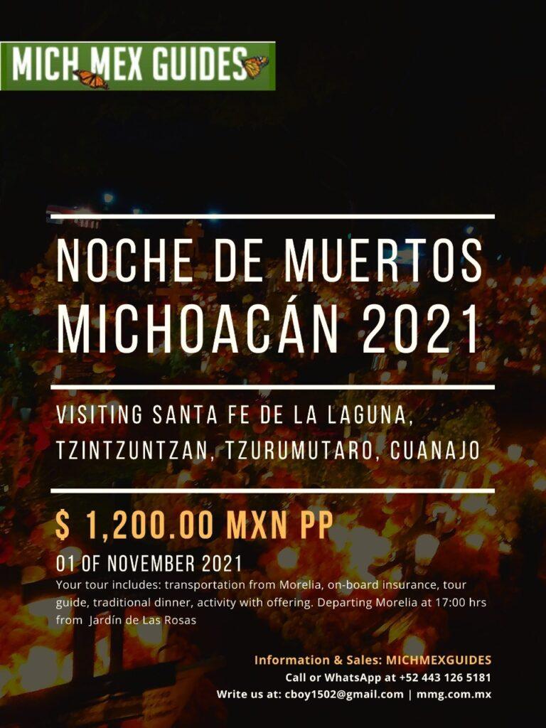 Noche de Muertos Michoacán 2021